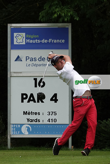 Julian Kunzenbacker (GER) during the third round of the Hauts de France-Pas de Calais Golf Open, Aa Saint-Omer GC, Saint- Omer, France. 15/06/2019<br /> Picture: Golffile | Phil Inglis<br /> <br /> <br /> All photo usage must carry mandatory copyright credit (© Golffile | Phil Inglis)