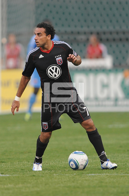 D.C. United midfielder Dwayne De Rosario (7)  File photo RFK stadium 2011 season.