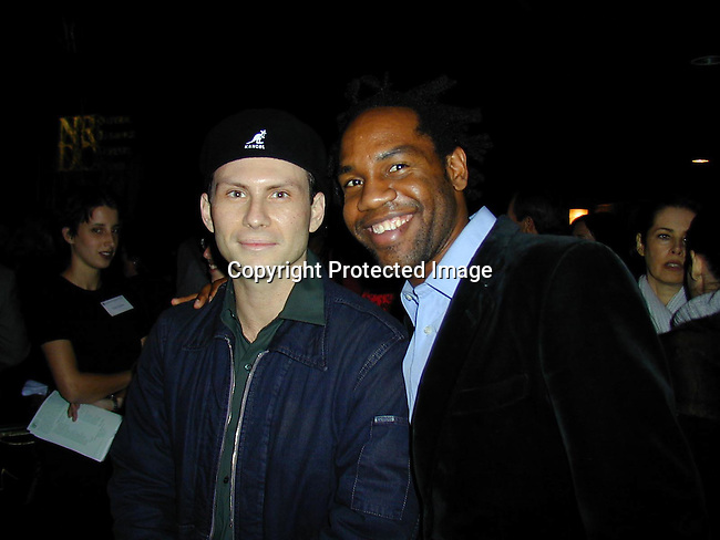 Christian Slater &amp; Unick<br />