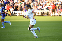 Kansas City, MO - Saturday May 28, 2016: FC Kansas City forward Shea Groom (2). FC Kansas City defeated Orlando Pride 2-0 during a regular season National Women's Soccer League (NWSL) match at Swope Soccer Village.