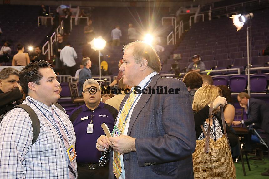 Fernsehreporter Rick Berman - Super Bowl XLIX Media Day, US Airways Center, Phoenix