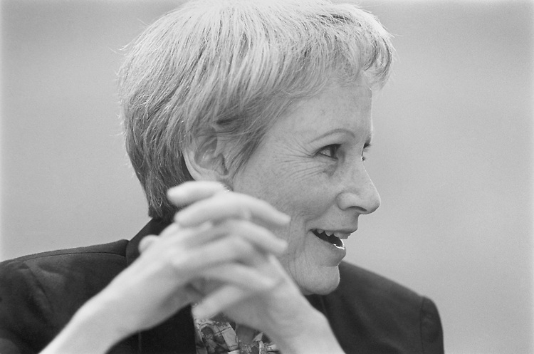 "Close-up of Sen. Nancy Landon Kassebaum Baker, R-Kans., talking at ""Joint Committee On Congress."" March 15, 1993 (Photo by Laura Patterson/CQ Roll Call)"