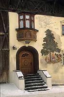 Europe/Autriche/Tyrol/Mutters: Détail maison