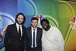 Chris D'Elia - Brent Morin - Ron Funches - Undateable - NBC Upfront at Radio City, New York City, New York on May 11, 2015 (Photos by Sue Coflin/Max Photos)
