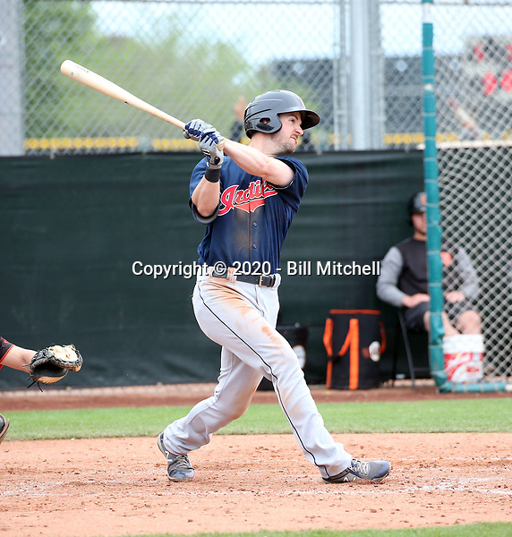 Mike Papi - Cleveland Indians 2020 spring training (Bill Mitchell)