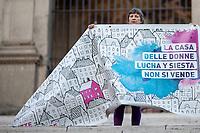 """23.01.2018 - Non Una di Meno: """"Tutt@ Al Campidoglio: La Città Femminista Non Si Sgombera!"""""""