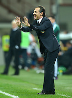 Fussball International  WM Qualifikation 2014   Italien - Daenemark                16.10.2012 Trainer Cesare Prandelli (Italien)