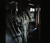 Interior view of C&amp;TS rotary snowplow #OY.<br /> C&amp;TS  Chama, NM