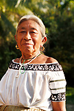BELIZE, Punta Gorda, Toledo District, portrait of an elder woman in the Maya village of San Jose