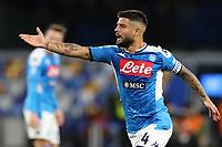Lorenzo Insigne of Napoli gestures<br /> Napoli 01-12-2019 Stadio San Paolo <br /> Football Serie A 2019/2020 <br /> SSC Napoli - Bologna FC<br /> Photo Cesare Purini / Insidefoto
