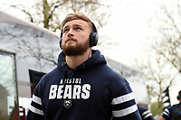 Ed Holmes and the rest of the Bristol Bears team arrive at Twickenham Stadium. Gallagher Premiership match, The Clash, between Bath Rugby and Bristol Rugby on April 6, 2019 at Twickenham Stadium in London, England. Photo by: Patrick Khachfe / Onside Images
