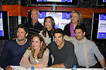 "Days of our Lives cast - James Scott, Crystal Chappell, Galen Gering, Eddie Campbell and back row: Greg Meng, Kristian Alfonso and Sheri Anderson at a book signing for ""Days Of Our Lives: A celebration in Photos - 45 years"" on February 25, 2011 at the NBC Experience Store, Rockefeller Center, New York City, New York. (Photo by Sue Coflin/Max Photos)"