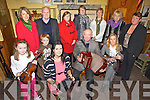 FLEADH: Some of the organisers of Fleadh Cheoil Chiarraí which will be held in Ballybunion this summer, front l-r: Ciara Hennessy, Ronan Hennessy, Denise Wren, Sean Breen, Maura Hanrahan. Back l-r: Mary Hennessy, Christy Moriarty, Margaret O'Connor, Kathy Flahive, Geraldine Hennessy, Peggy McCarron, Kate McCarthy.