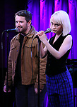 Alex Brightman and Sophia Anne Caruso during Broadway's 'Beetlejuice' - First Look Presentation at Subculture  on February 28, 2019 in New York City.