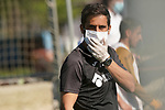 Getafe's assistant coach Sergio Mora during training session. May 19,2020.(ALTERPHOTOS/Acero)