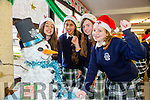 Students l-r  Brid Stack, Lorissa Vichente, Lia O'Connell and Megan Tearle at the Presentation Secondary School Santa Hat Day in aid of Ronald McDonald House.