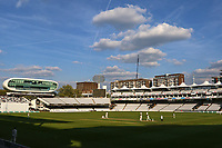General view of play late in the day during Middlesex CCC vs Essex CCC, Specsavers County Championship Division 1 Cricket at Lord's Cricket Ground on 23rd April 2017