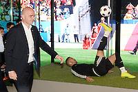 28-02-2016 Zurigo  Football FIFA; New FIFA President Gianni Infantino arrives for the inauguration of the new FIFA museum<br /> (Steffen Schmidt/freshfocus/Insidefoto)