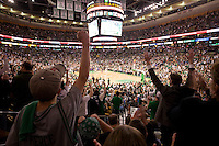 Celtics vs Pistons at TD Banknorth Garden, semifinal playoff, Boston, MA