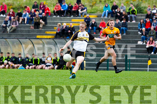 Dr Crokes Colm Cooper kicks a point Austin Stacks during their Club Championship clash in Killarney on Sunday