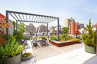 Roof Deck at 211 East 13th Street