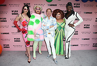 LOS ANGELES, CA - JUNE 22: Violet Chachki, Kim Chi, Carson Kressley, Ginger Minj, Bob the Drag Queen, at Beverly Center x The Advocate x World of Wonder Pride Event at The Beverly Center in Los Angeles, California on June 22, 2019. Credit: Faye Sadou/MediaPunch
