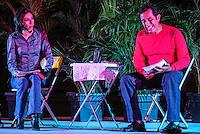Victor Hugo Rascon , durante una lectura Dramatizada: Estar y Bebida.<br /> Foto: LuisGutierrez / NortePhoto