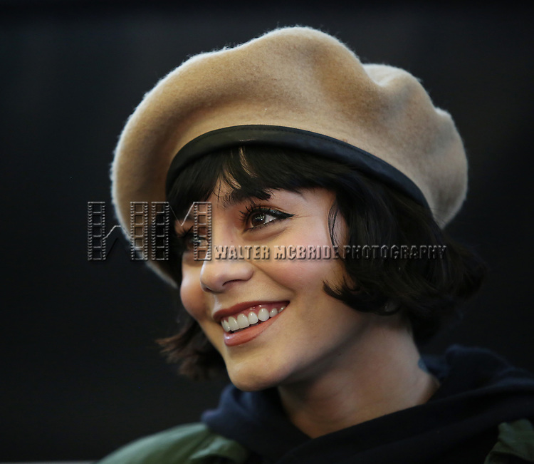 Vanessa Hudgens during the Broadway Center Stage Rehearsal for 'In The Heights' on March 13, 2018 at Baryshnikov Arts Center in New York City.