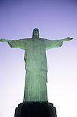 Rio de Janeiro, Brazil. Moody shot of the Christ statue.