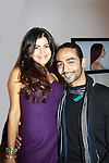 One Life To Live's Shenaz Treasury poses with her friend Shayan at Let's Celebrate - The Diva Gals Style Lounge on October 5, 2011 at Select Strands, New York City, New York. DivaGalsDaily.com is the premier website inspiring DivaGals around the globe to celebrate evry living moment in a savvy, sophisticated and social way.  (Photo by Sue Coflin/Max Photos)