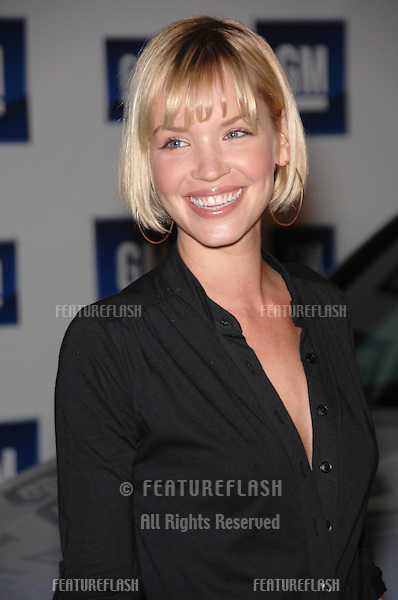 Ashley Scott at the 2007 GM Ten Fashion Show Gala at Paramount Studios, Hollywood..February 21, 2007  Los Angeles, CA.Picture: Paul Smith / Featureflash
