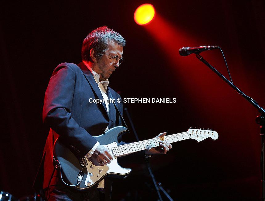PHOTO ©  Stephen Daniels 19/05/2007<br /> Countryside Rocks concert at Highclere Castle, Newbury, Berkshire.<br /> Eric Clapton