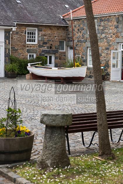 Royaume-Uni, îles Anglo-Normandes, île de Guernesey, Castel : Saumarez Park - Guernsey folk Museum: musée du folklore// United Kingdom, Channel Islands, Guernsey island, Castel : Saumarez Park , Guernsey folk Museum