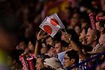 Fans of Japan cheer during the AFC Asian Cup UAE 2019 Quarter Finals match between Vietnam (VIE) and Japan (JPN) at Al Maktoum Stadium on 24 January 2018 in Dubai, United Arab Emirates. Photo by Marcio Rodrigo Machado / Power Sport Images