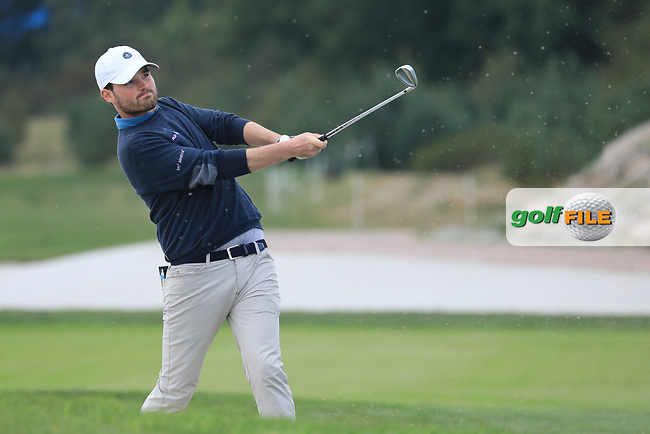 Cormac Sharvin (NIR) during the second round of the Porsche European Open , Green Eagle Golf Club, Hamburg, Germany. 06/09/2019<br /> Picture: Golffile   Phil Inglis<br /> <br /> <br /> All photo usage must carry mandatory copyright credit (© Golffile   Phil Inglis)