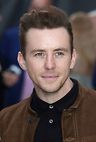Danny Jones at the King of Thieves World Premiere at Vue West End, Leicester Square, London on Wednesday 12 September 2018<br /> CAP/ROS<br /> &copy;ROS/Capital Pictures