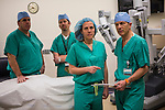 The Women & Infants Hospital Robotic Surgery staff shot in the operating room  at Women & Infants in Providence, RI on Wednesday, March 20, 2013 (Photo/Joe Giblin)