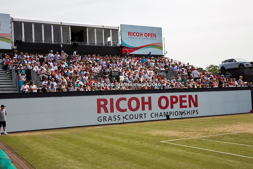 Den Bosch, Netherlands, 10 June, 2016, Tennis, Ricoh Open, Led boardng<br /> Photo: Henk Koster/tennisimages.com