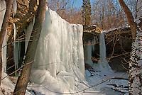 Frozen Waterfall, Tipp City, OH