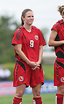 26 August 2007: Connecticut's Erin Gatto. The Washington Freedom played the Connecticut Sun in the Hall of Fame Game as part of the National Soccer Hall of Fame Induction Weekend at the National Soccer Hall of Fame in Oneonta, New York.