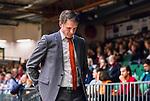 S&ouml;dert&auml;lje 2014-10-01 Basket Basketligan S&ouml;dert&auml;lje Kings - Norrk&ouml;ping Dolphins :  <br /> Norrk&ouml;ping Dolphins Norrk&ouml;ping Dolphins tr&auml;nare head coach Lars Lasse Johansson ser nedst&auml;md ut<br /> (Foto: Kenta J&ouml;nsson) Nyckelord:  S&ouml;dert&auml;lje Kings SBBK T&auml;ljehallen Norrk&ouml;ping Dolphins depp besviken besvikelse sorg ledsen deppig nedst&auml;md uppgiven sad disappointment disappointed dejected portr&auml;tt portrait tr&auml;nare manager coach
