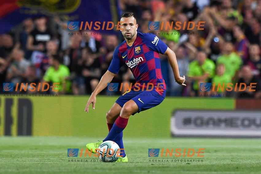 FOOTBALL: FC Barcelone vs Real Betis - La Liga-25/08/2019<br /> Jordi Alba (FCB)<br />  <br /> 25/08/2019 <br /> Barcelona - Real Betis  <br /> Calcio La Liga 2019/2020  <br /> Photo Paco Largo/Panoramic/insidefoto