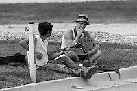Young Panhandlers w/ Banjo in Missouri