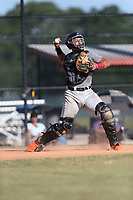 Maxwell Romero Jr (62) of Pembroke Pines Charter High School in Miramar, Florida during the Under Armour Baseball Factory National Showcase, Florida, presented by Baseball Factory on June 13, 2018 the Joe DiMaggio Sports Complex in Clearwater, Florida.  (Nathan Ray/Four Seam Images)