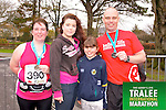 Maureen Spillane Timmy Spillane 391, Aideen and Caoimhe Spillane who took part in the Kerry's Eye Tralee International Marathon on Sunday 16th March 2014