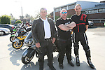 Ken Smith, Barry Fay and David Carney at the Start of the Run of the Country Motorcycle Run at St.Itas School...Photo NEWSFILE/Jenny Matthews.(Photo credit should read Jenny Matthews/NEWSFILE)....This Picture has been sent you under the condtions enclosed by:.Newsfile Ltd..The Studio,.Millmount Abbey,.Drogheda,.Co Meath..Ireland..Tel: +353(0)41-9871240.Fax: +353(0)41-9871260.GSM: +353(0)86-2500958.email: pictures@newsfile.ie.www.newsfile.ie.FTP: 193.120.102.198.