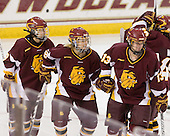 Mariia Posa (Minnesota-Duluth - 8), Katherine Wilson (Minnesota-Duluth - 9), Tara Gray (Minnesota-Duluth - 13) - The University of Minnesota-Duluth Bulldogs defeated the Boston College Eagles 3-0 on Friday, November 27, 2009, at Conte Forum in Chestnut Hill, Massachusetts.