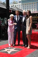 Dorothy Flay, Bobby Flay, Bill Flay, Sophie Flay at the Bobby Flay Hollywood Walk of Fame Ceremony, Hollywood, CA 06-02-15<br /> David Edwards/DailyCeleb.com 818-249-4998