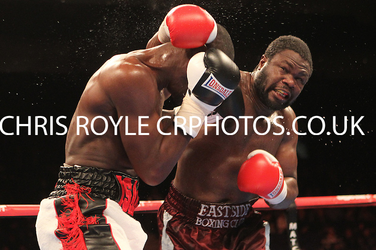Isaac Chamberlain vs Moses MatovuBoxing at the O2 Arena, London, promoted by Matchroom Sports  - 31/01/15 - MANDATORY CREDIT: Chris Royle/