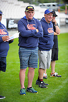 Otago women's coach David Latta on day two of the Bayleys National Sevens at Rotorua International Stadium, Rotorua, New Zealand on Sunday, 15 January 2015. Photo: Dave Lintott / lintottphoto.co.nz